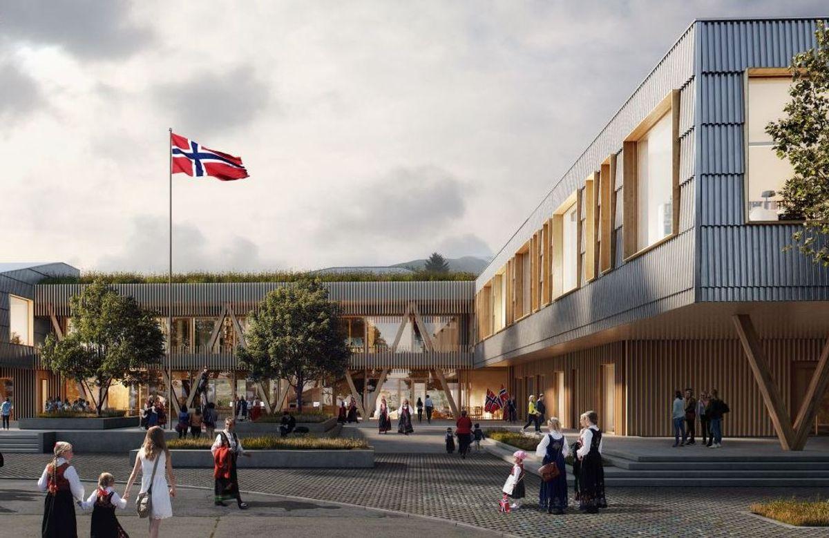 Illustrasjon: Ola Roald Arkitektur / Streken arkitekter