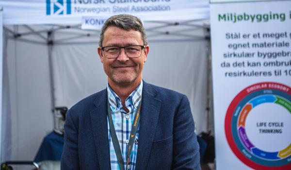 Daglig leder Kjetil Myhre i Norsk Stålforbund.
