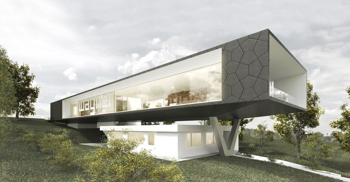 Illustrasjon: Titus Bernhard Architekten