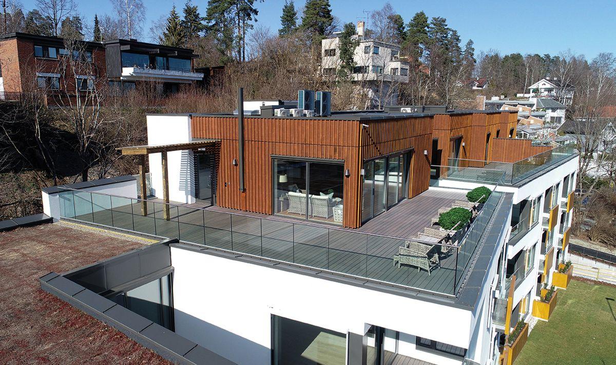Villa Montebello i Oslo, 16.4.2020. Foto: Axer Eiendom AS