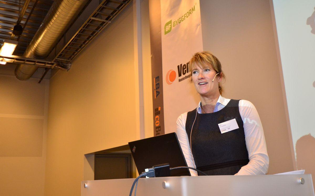 EBA-direktør Kari Sandberg.