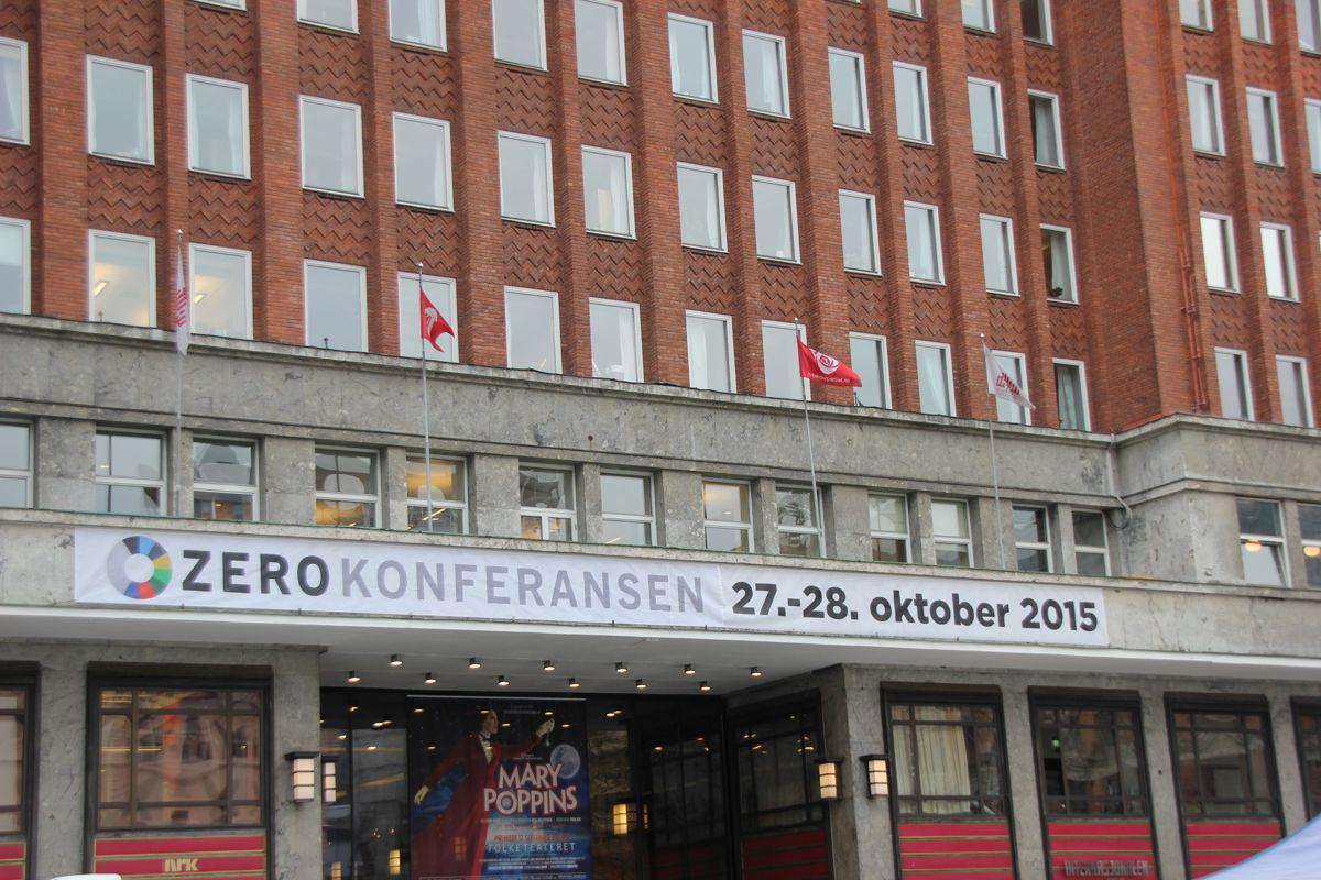 Zerokonferansen 2015. (Foto: Svanhild Blakstad)