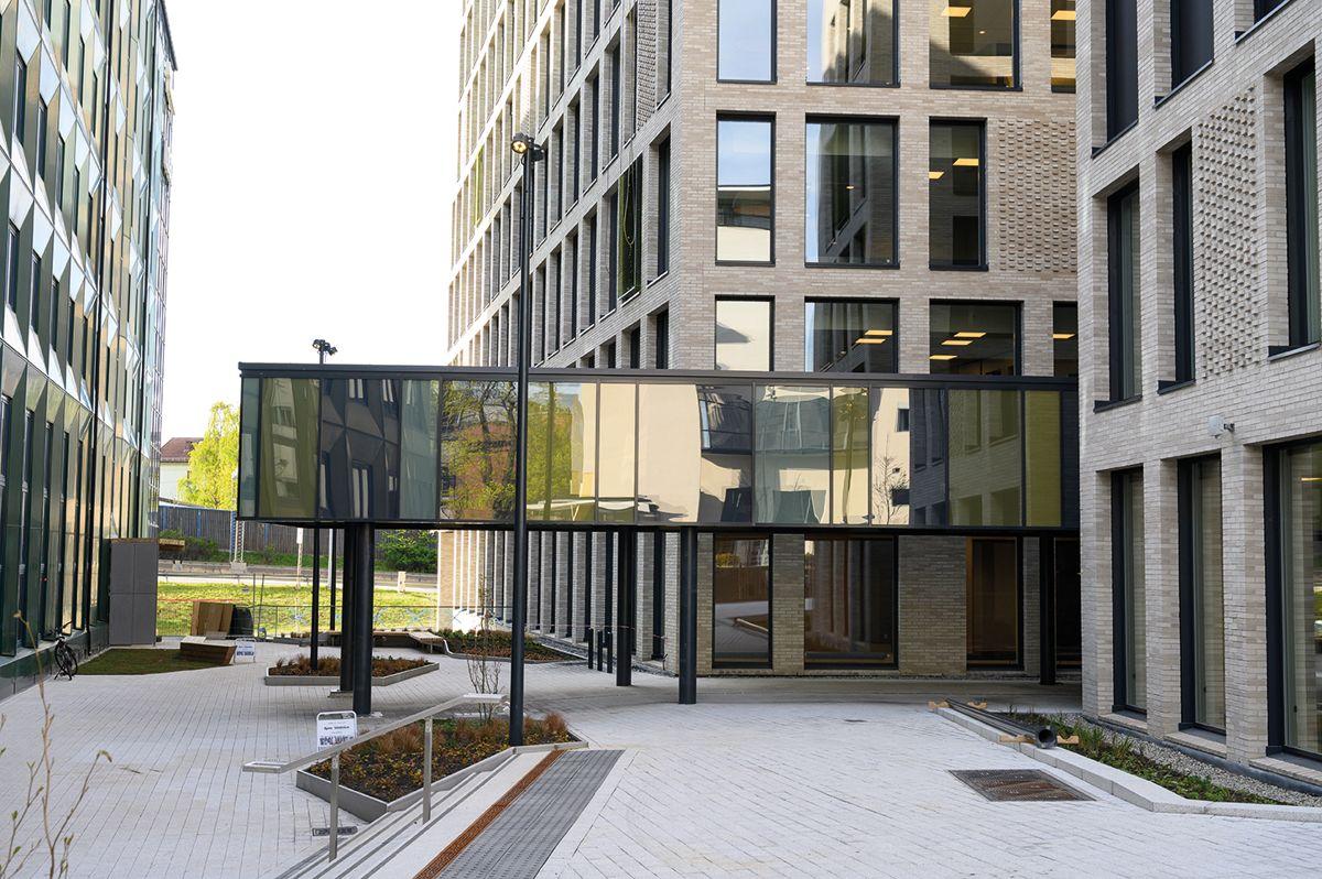 Fyrstikkalleen 1, fotodato 6.5.2020 Foto: Trond Joelson, Byggeindustrien Fyrstikkallen 1, Helsfyr, fotodato 6.5.2020. Foto: Trond Joelson, Byggeindustrien