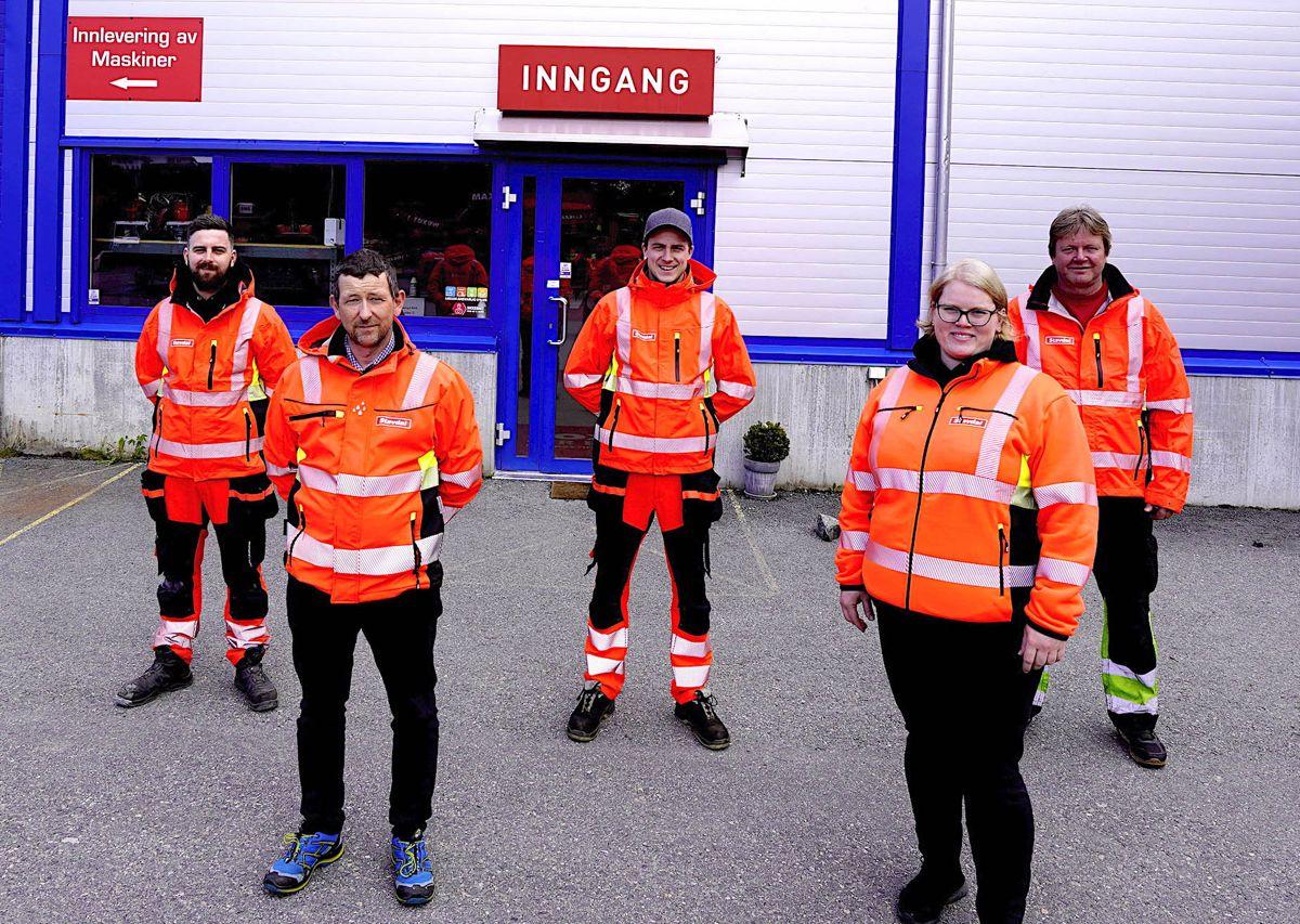 Loxams ansatte i Bergen har nå blitt en del av det nye Stavdal-selskapet. Foto: Stavdal