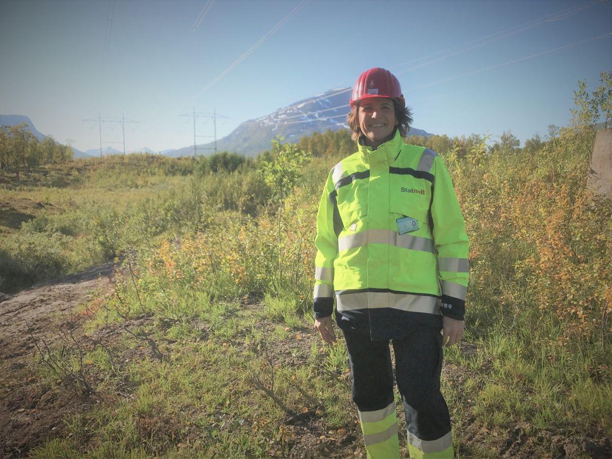 Kirsten Faugstad, North Sea Links prosjektleder for kabel. Foto: Statnett