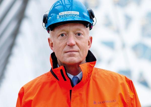 Administrerende direktør Harald V. Nikolaisen i Statsbygg. Foto: Statsbygg