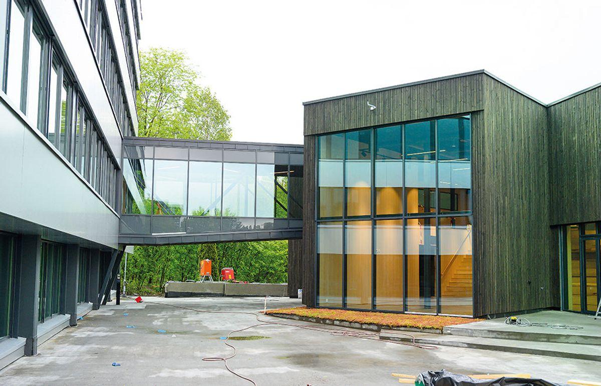 Hagaløkkveien i Asker, 23.5.2020 Foto: Trond Joelson, Byggeindustrien
