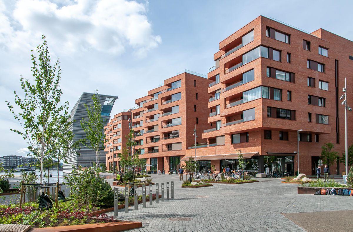 Munch Brygge, Oslo. Arkitekt: Lund+Slaatto Arkitekter. Byggherre: Stor-Oslo Eiendom
