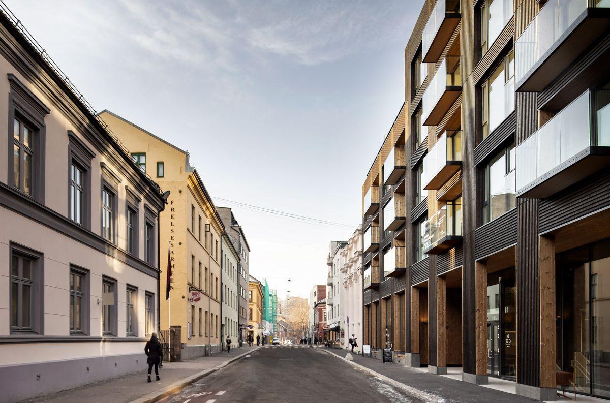 Nordre gate 20-22, Oslo. Arkitekt: Alliance Arkitekter. Byggherre. Aspelin Ramm Eiendom. Foto: Melissa Hegge