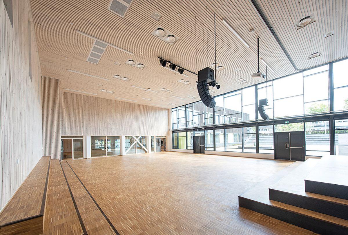 Levre skole, mai 2020. Foto: Trond Joelson, Byggeindustrien