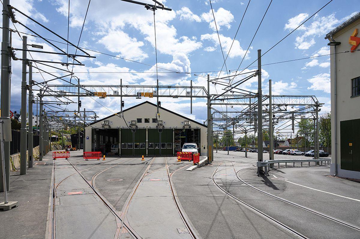 Holtet base i Oslo, 18.5.2020. Foto: Trond Joelson, Byggeindustrien