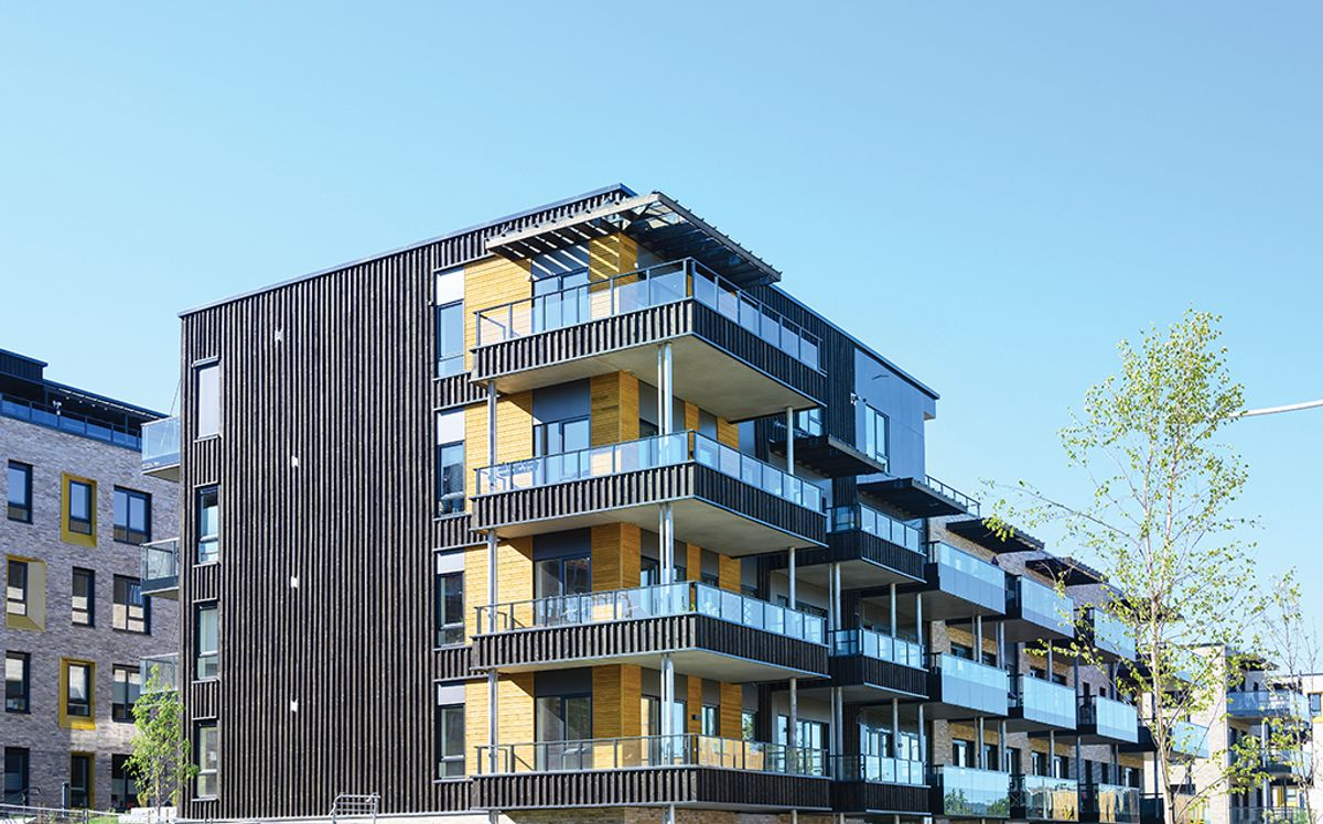 Oksenøya 2 på Fornebu, 21.5.2020 Foto: Trond Joelson, Byggeindustrienj