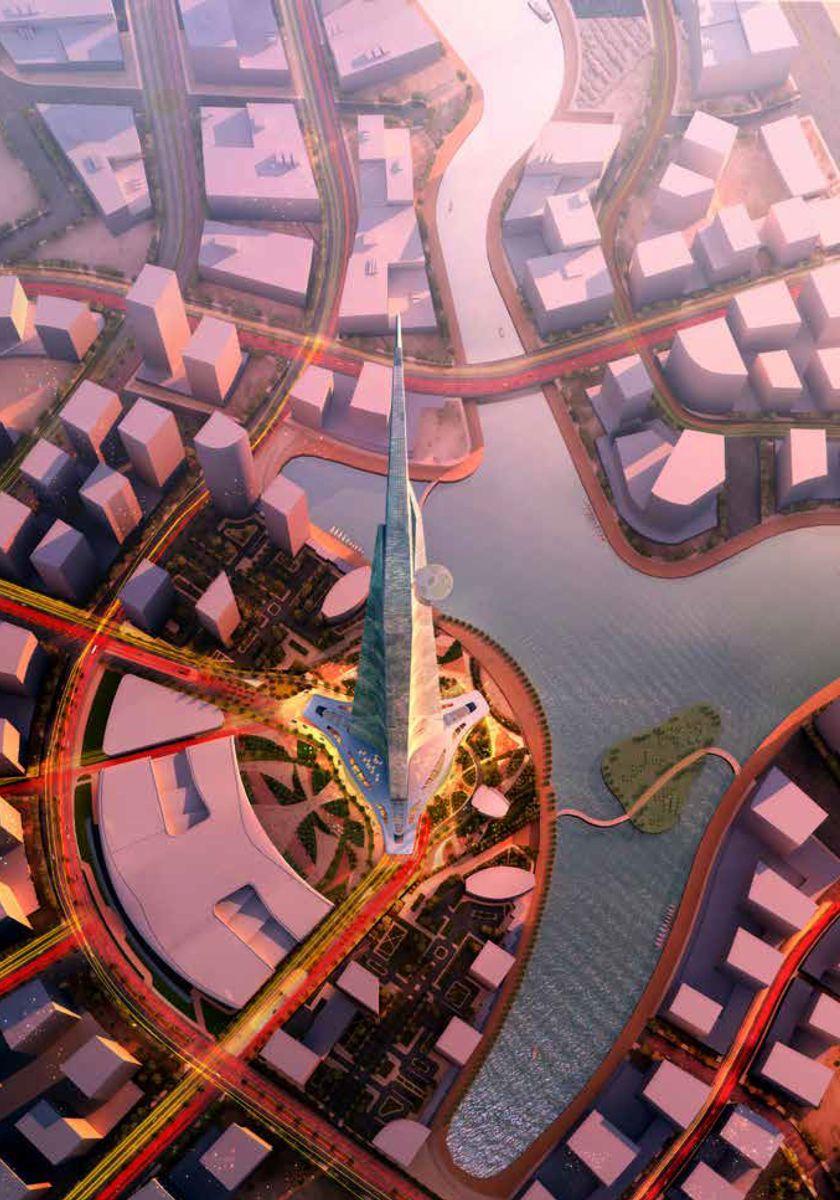 Illustrasjon: Adrian Smith + Gordon Gill Architecture