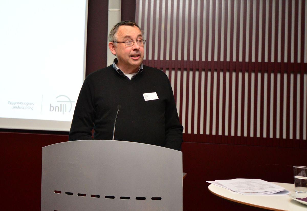 Kommunaldirektør i Bærum kommune, Arthur Wøhnli, kom med sine tanker og råd rundt forbedringen av planprosessene.