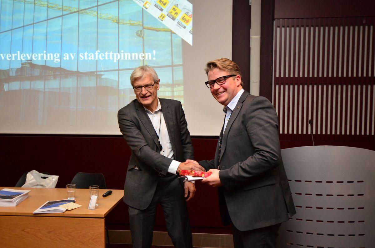 Seminarleder Arne Skjelle (til venstre) og Per Willy Amundsen.
