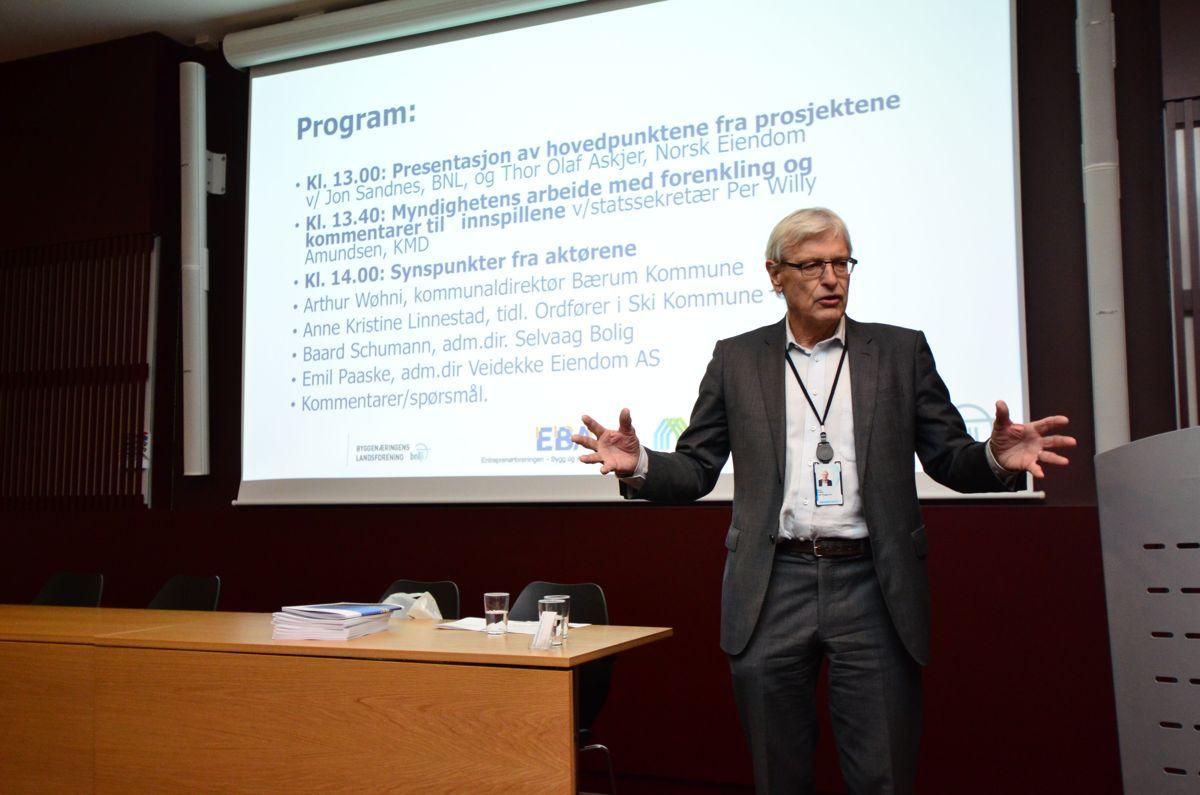 Seminarleder Arne Skjelle.