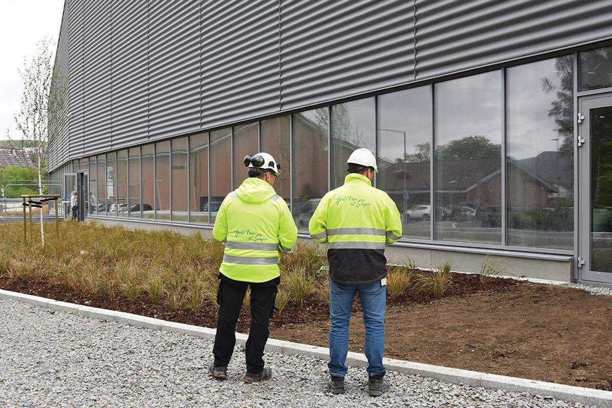 Byggmester Sagen er hovedentreprenør for byggfagene.