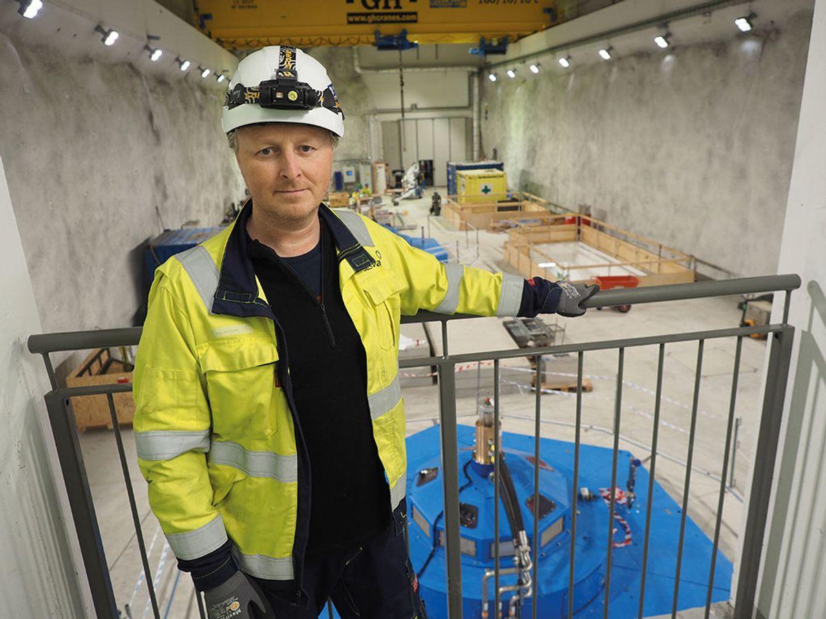 Prosjektleder Pål Røssum i Hafslund E-CO.