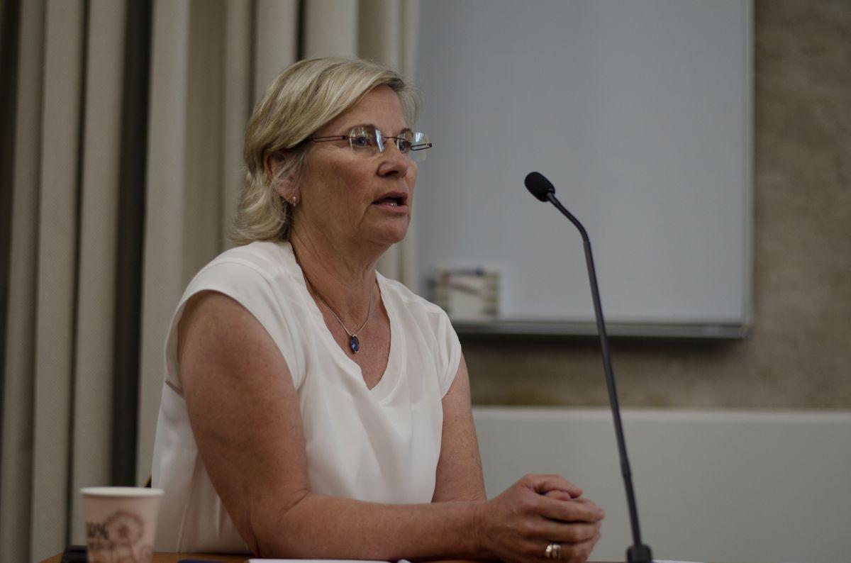 Anna Marion Persch hos Advokat Lippestad orienterte om jusen i etikkplakaten.