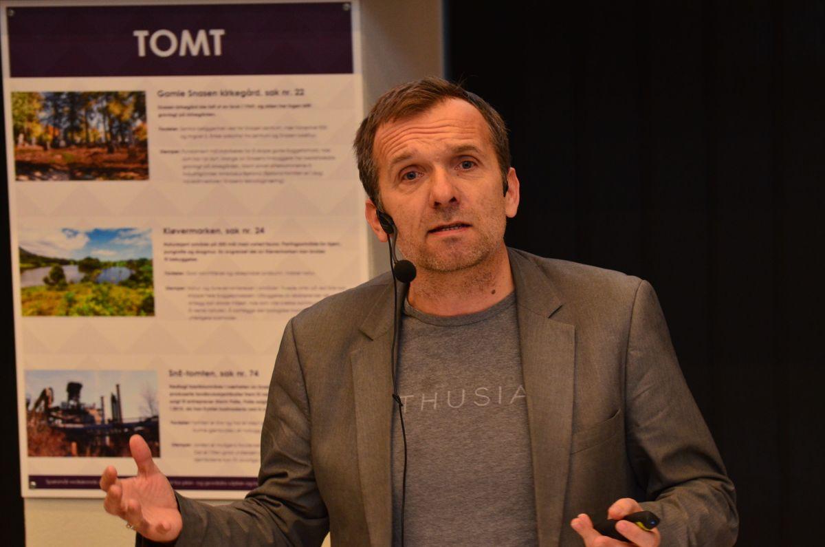 Direktør for bymiljø og utbygging i Stavanger kommune, Leidulf Skjørestad.