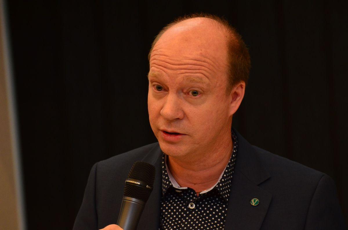 Stortingsrepresentant og leder av Stortingets uformelle vanngruppe Kjetil Kjenseth (V).