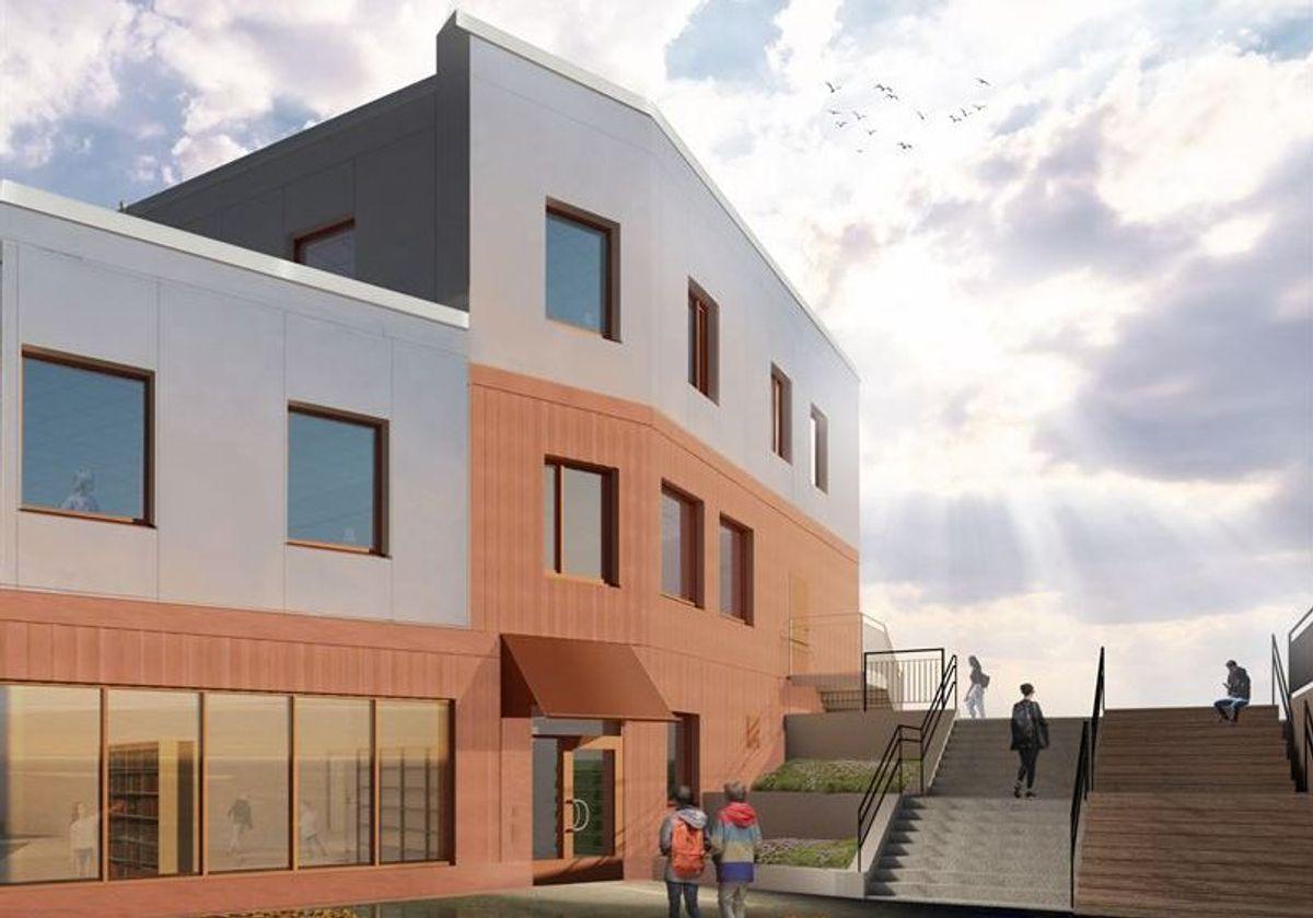 Illustrasjon: Arcona Arkitekter
