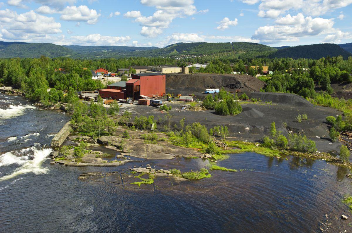 Agder Energi skal bygge ut Fennefoss Kraftverk. Foto: Agder Energi