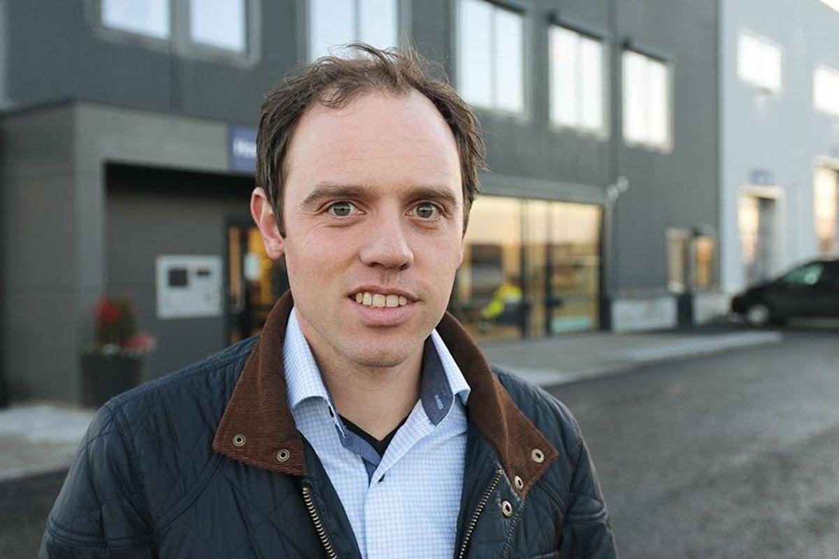 Prosjektleder Trond Svenkerud i Martin M. Bakken.