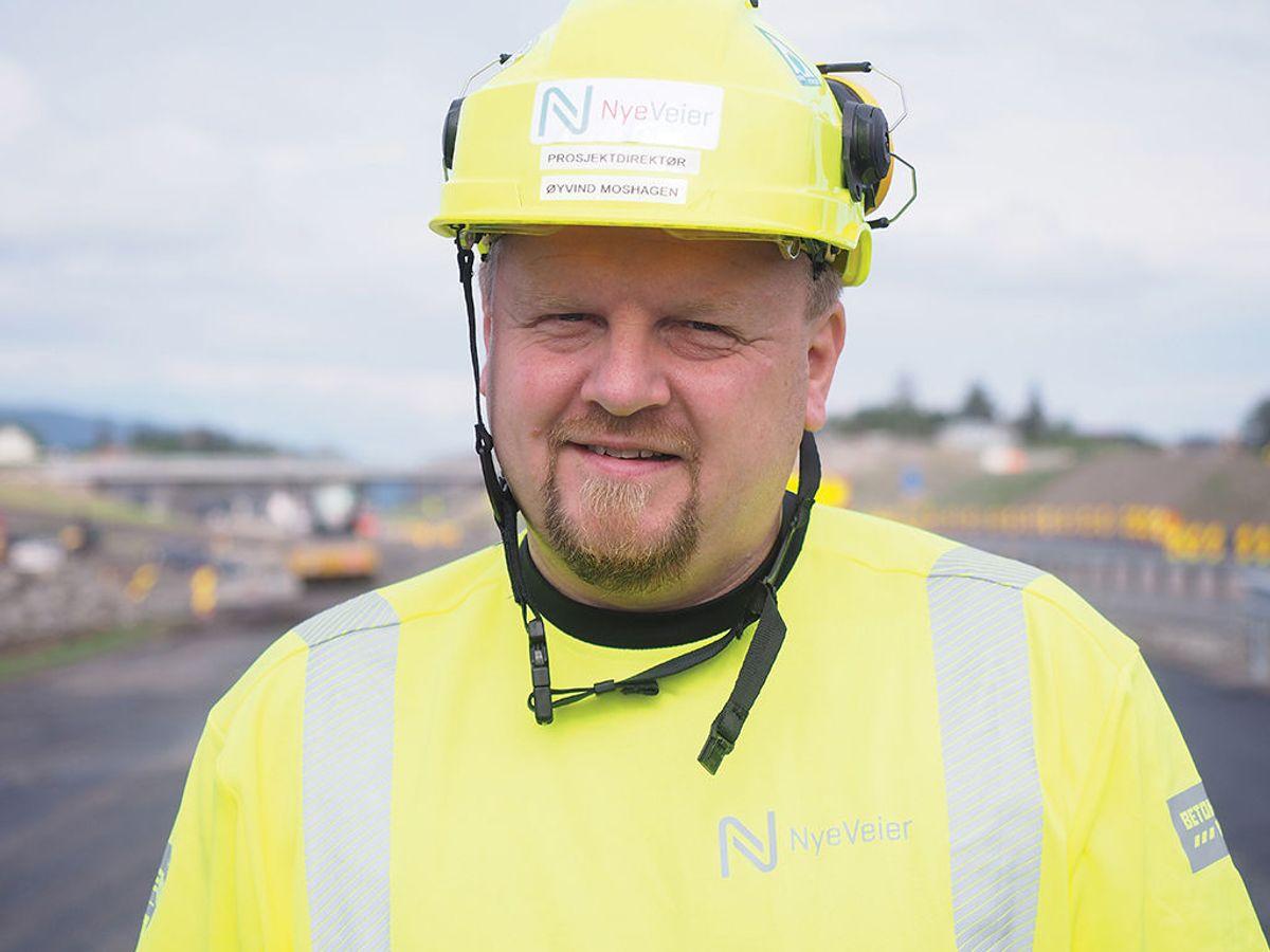 Prosjektdirektør Øyvind Moshagen i Nye Veier E6 Innlandet.