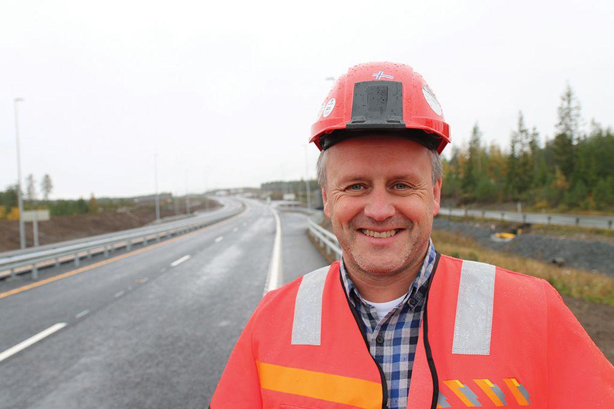 Prosjektleder Tom Hedalen i Statens vegvesen.