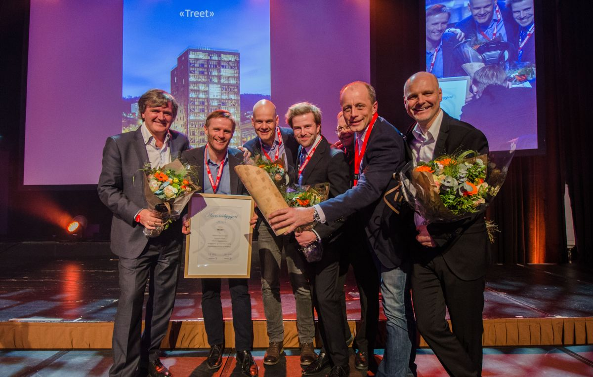 Terje W. Gilje (fra venstre), Per Reigstad, Harald Liven, Andreas Østvold, Åge Holmestad, Rune Abrahamsen og Ole Herbrand Kleppe.