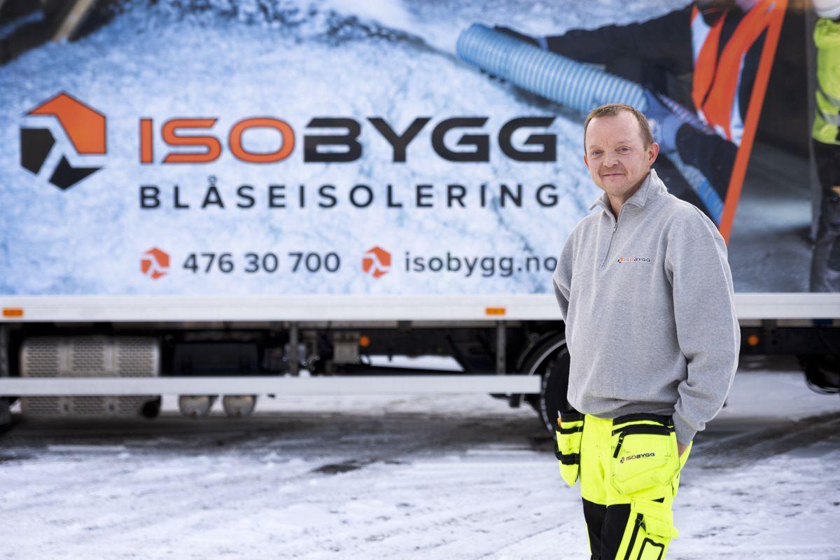 Daglig leder Frode Næss i Isobygg. Foto: Isobygg