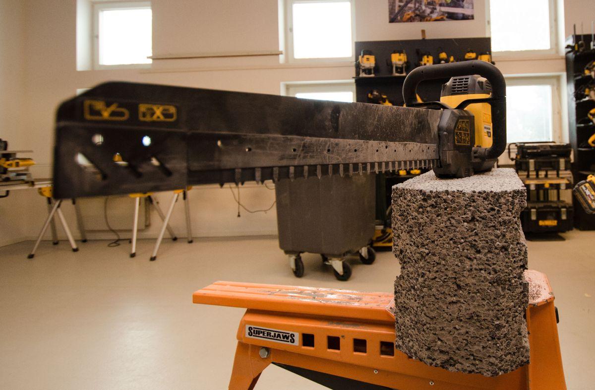 Verdens første batteridrevne alligatorsag.