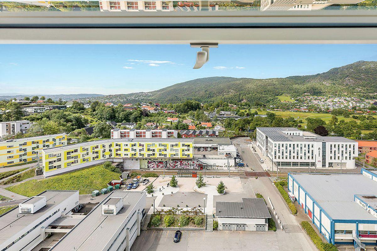 Utsikt over Fantoft studentby. Foto: Sammen