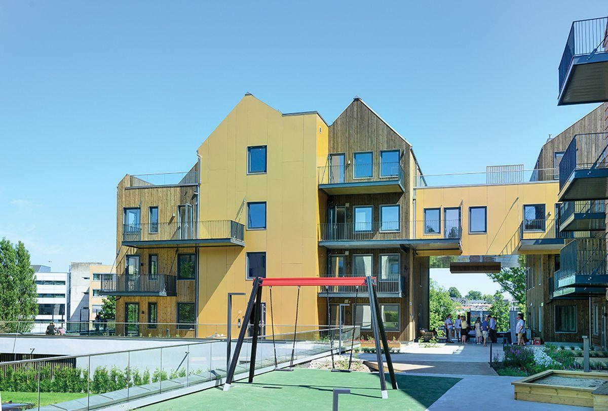 Havegaten 1 i Tønsberg, 25.6.2020. Foto: Trond Joelson, Byggeindustrien