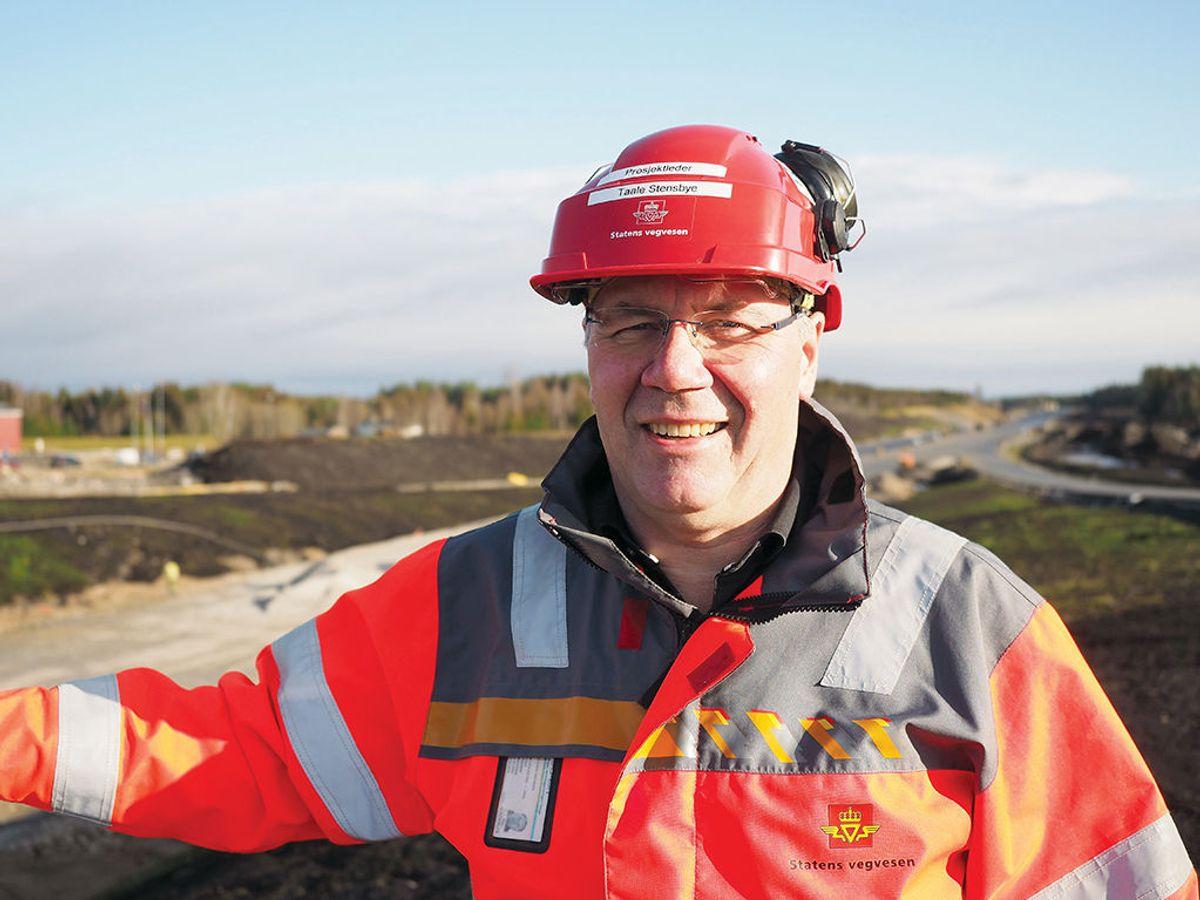 Prosjektleder Taale Stensbye i Statens vegvesen.