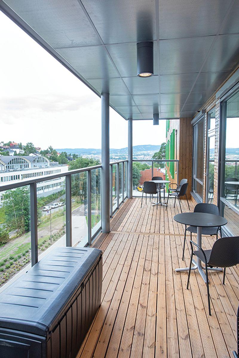 Solfjellshøgda helsehus på Ryen i Oslo, 4.8.2020 Foto: Trond Joelson, Byggeindustrien
