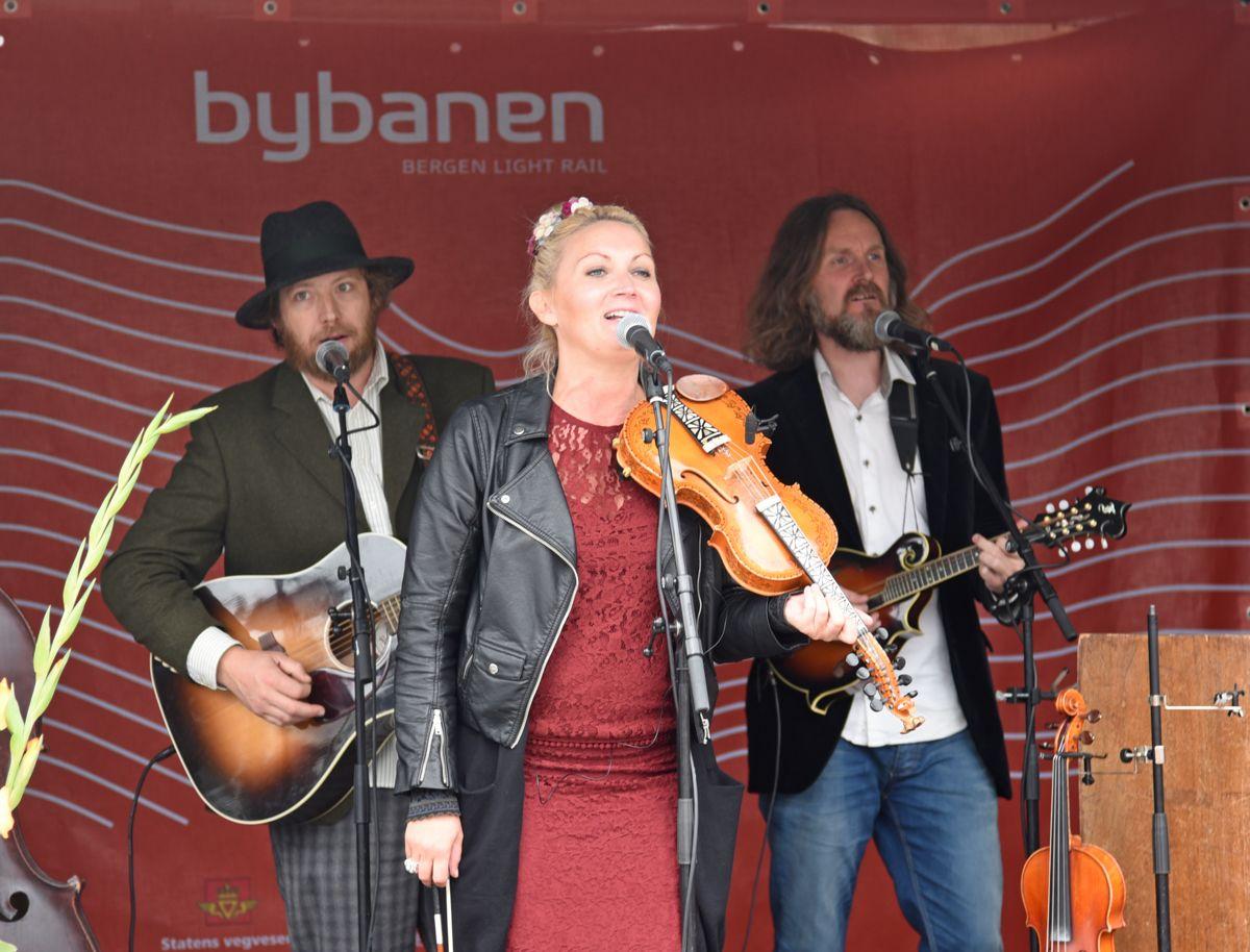 Sigrid Moldestad spilte ved Råstølen.