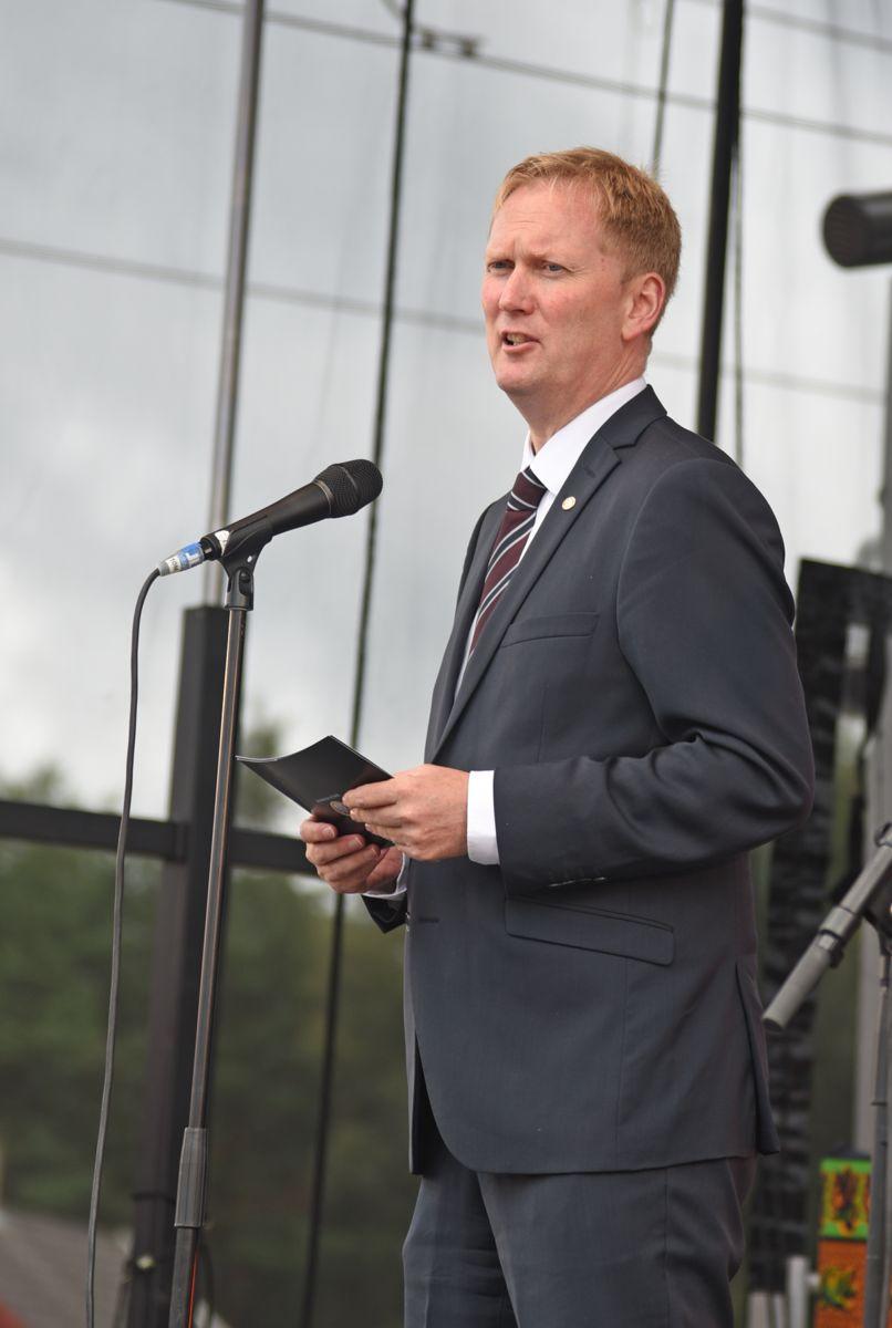 Byrådsleder Harald Schjelderup.