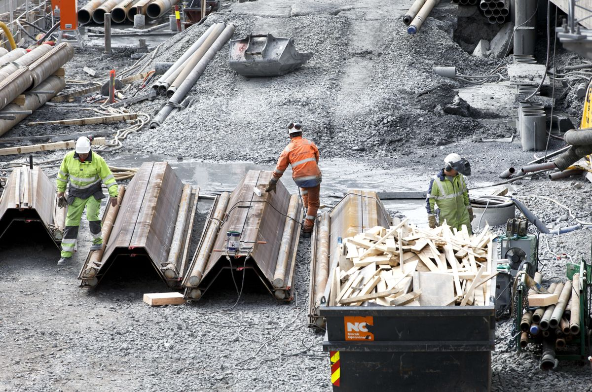 Hvilke forventninger har byggenæringen til en ny regjering? Foto: Gorm Kallestad / NTB scanpix