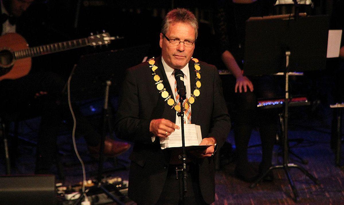 Ordfører Thor Håkon Edquist i Halden.