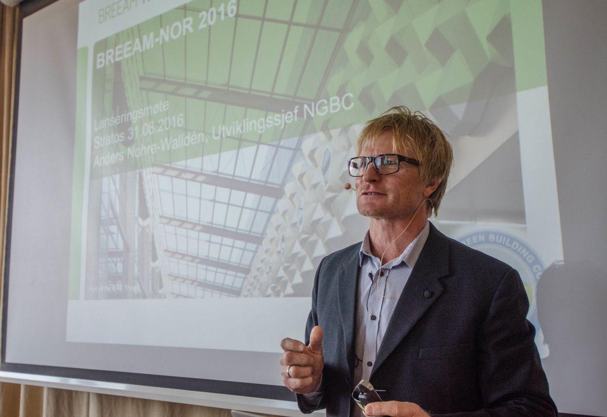 Utviklingssjef Anders Nohre-Walldén i NGBC.