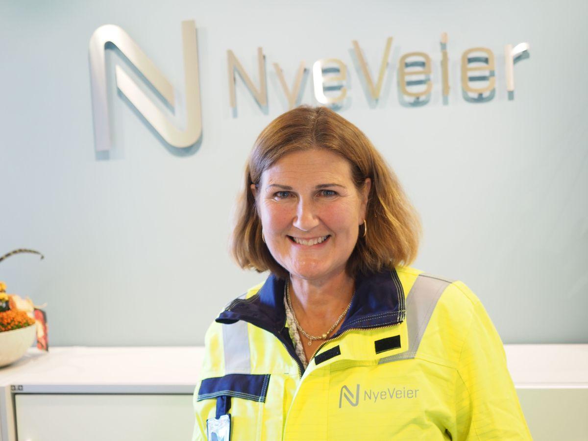 Adminstrerende direktør Ingrid Dahl Hovland i Nye Veier. Foto: Jørn Hindklev