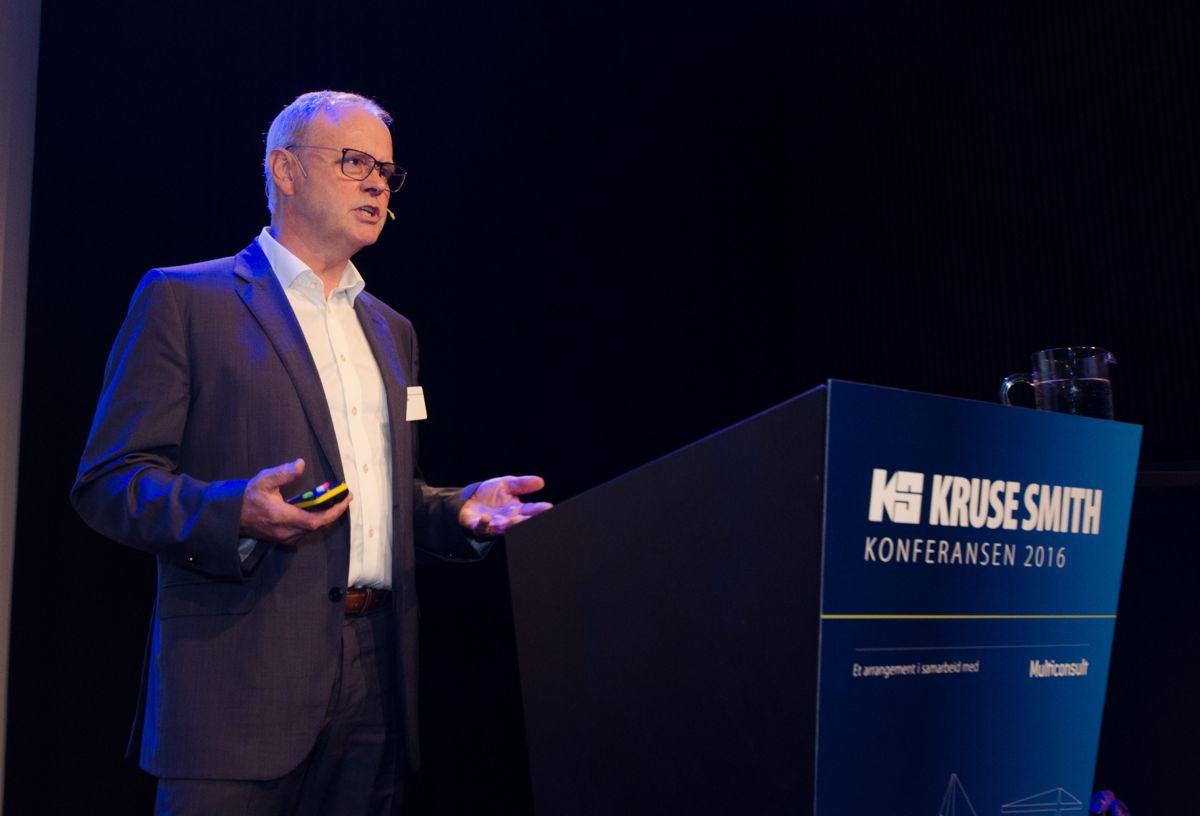 Programdirektør Sverre Tiltnes i Bygg21.