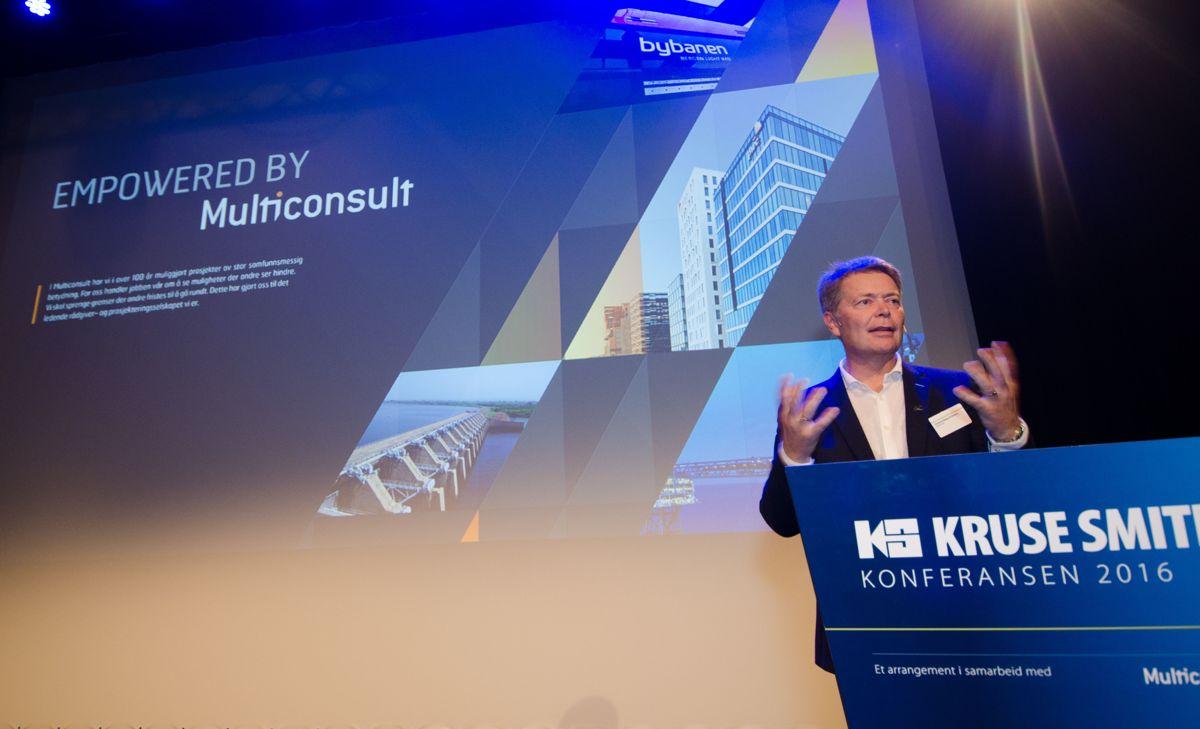 Administrerende direktør i Multiconsult, Christian Nørgaard Madsen.