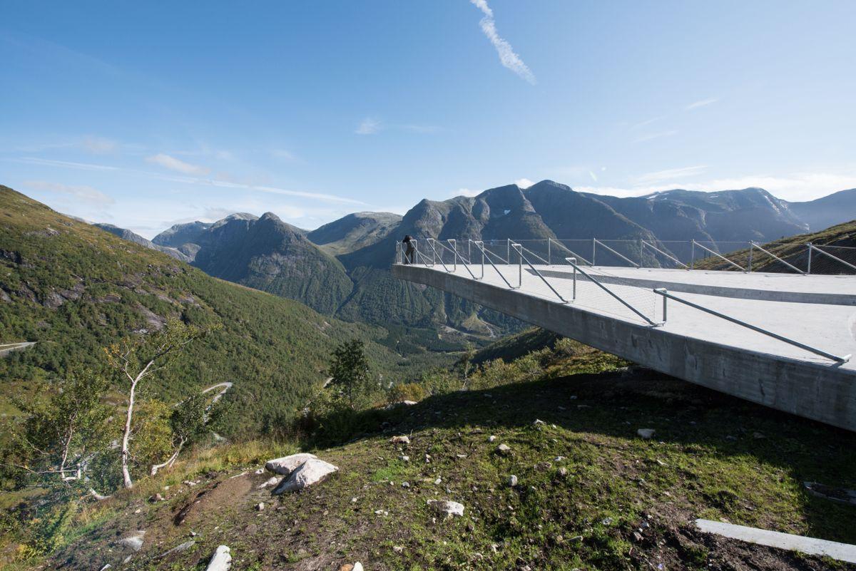 Foto: Trond Joelson, Byggeindustrien Bildenr.: TJO 20160908 33 Gaularfjell