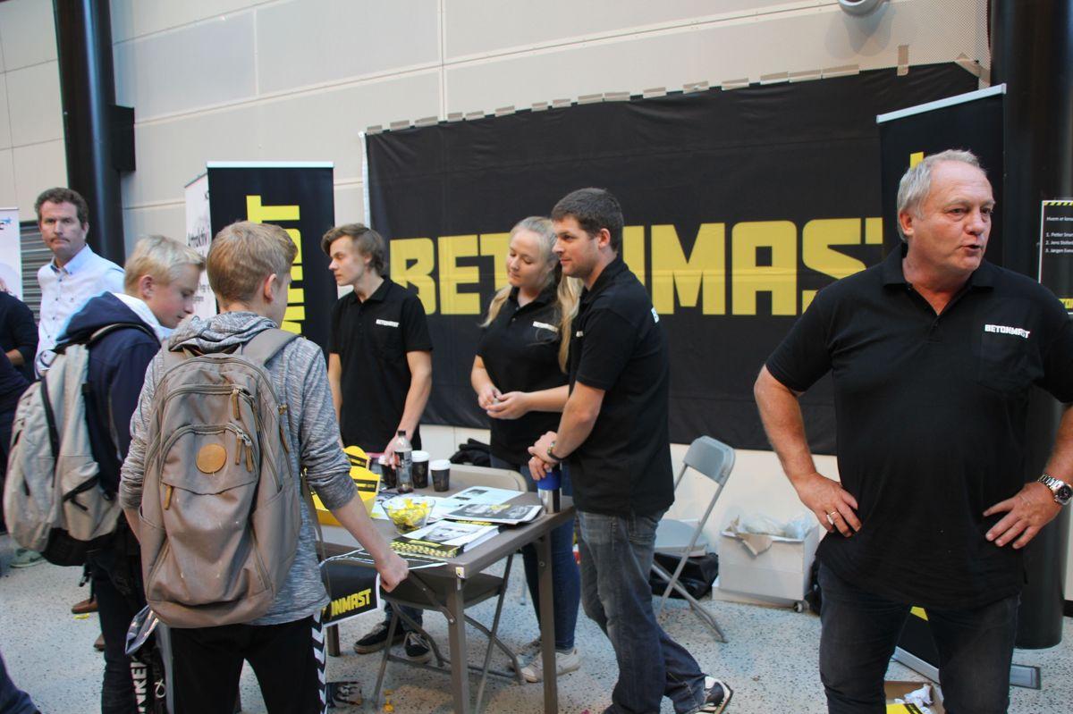 Byggcamp 2016 på Kuben yrkesarena. Foto: Svanhild Blakstad