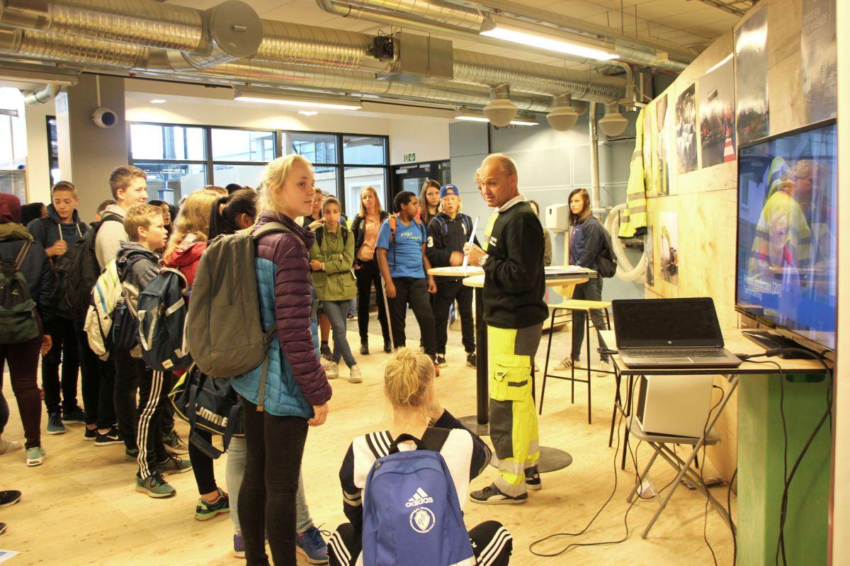 BYGGCAMP 2016: Kuben yrkesarena. Foto: Svanhild Blakstad