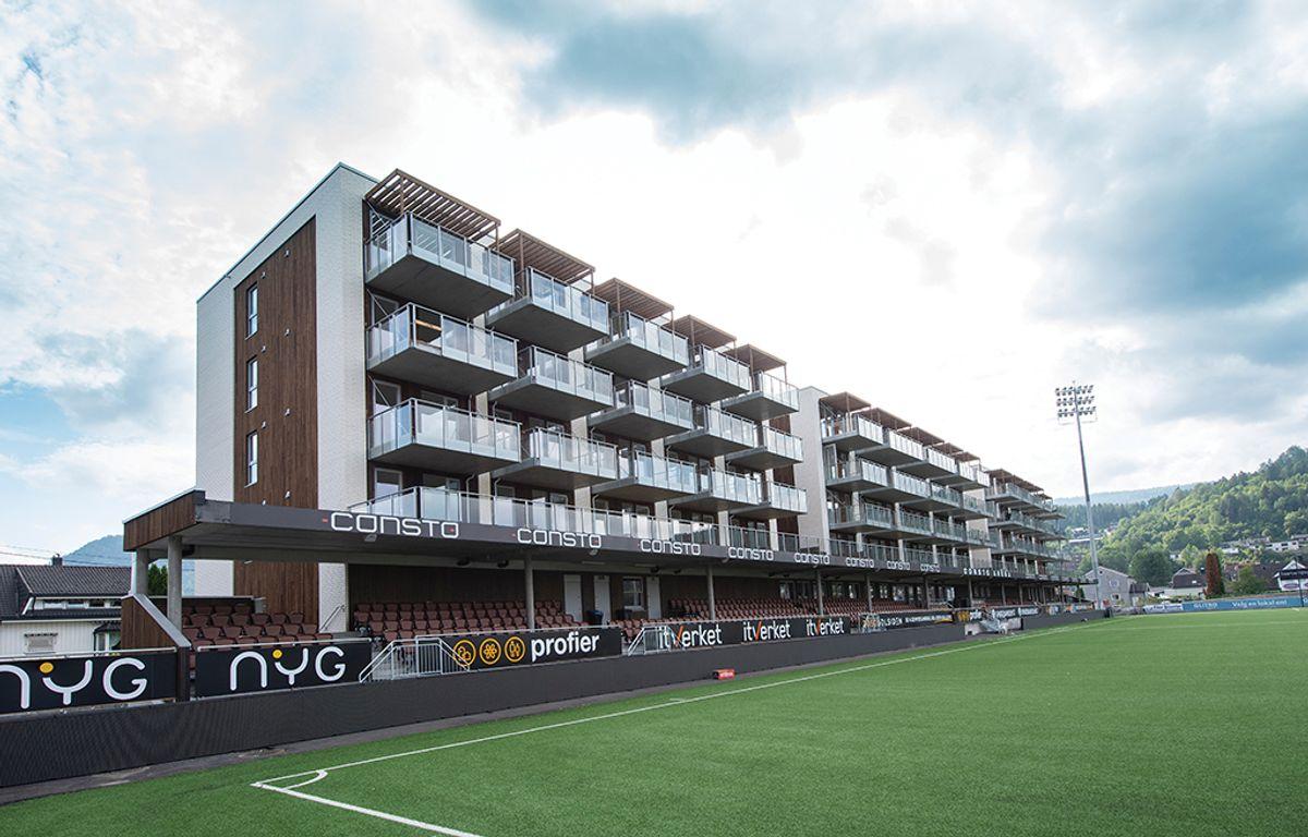3050 Solsiden i Mjøndalen, 19.8.2020 Foto: Trond Joelson, Byggeindustrien