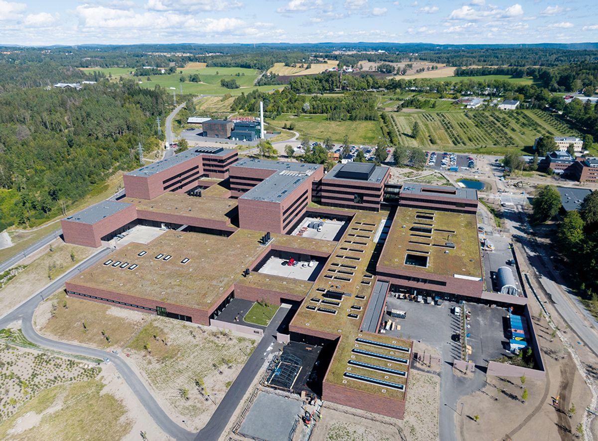 Veterinærbygget i Ås, NMBU, 25.8.2020 Foto: Trond Joelson, Byggeindustrien